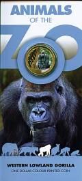 Zoo Serie: 1 $ Australien 2012 Gorilla