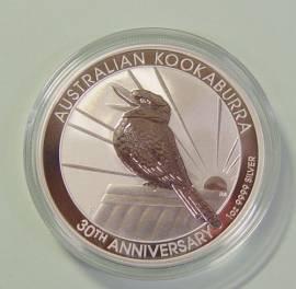 Australien 1 $ Kookaburra 2020 1 oz - 30 Jahre Kookaburra!