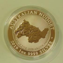 1 $ Australien 2019 Australien Nugget: Welcome Stranger BU