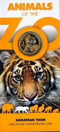 Zoo Serie: 1 $ Australien 2012 Tiger
