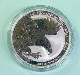 1 $ Australien 2020 Wedge-Tailed-Eagle unc.