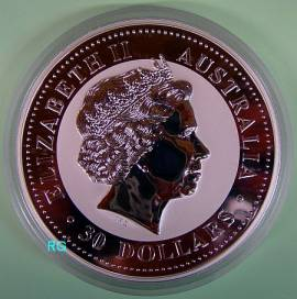 Australien 30 $ Kookaburra 2006 1 kg - Bild vergrößern