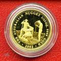 Australien 4 $ 2002 - Goldsucher - 1/25 oz. Gold