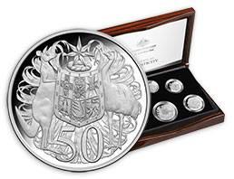 Australien Kursmünzensatz 2017 - Silber PP -