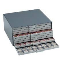 Münzenkastengehäuse Maxi für 10 Schubladen