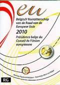 2 Euro Belgien 2010 - EU-Präsidentschaft - im Blister
