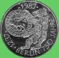 10 DM - 1987 750 Jahre Berlin