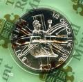 Großbritannien 1 £ Britannia 2011 BU 1/2 oz Silber