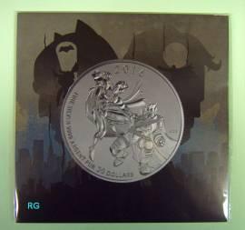Kanada 20 $ 2016 - Batman vs. Superman - (BU) Blister 1/4 oz