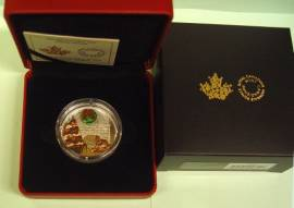 Kanada 20 $ 2019 - Holiday Wreath / Weihnachtskranz - Proof (Muranoglas)