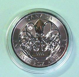 Kanada 10 $ 2020 - Krake - 2 oz BU