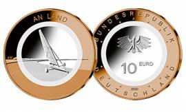 Satz Deutschland 5x 10 € Auf dem Wasser - A,D,F,G,J -  (Polymer) 2021 bfr .