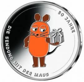 Deutschland 20 Euro 50 Jahre Sendung mit der Maus 2021 PP
