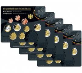 Deutschland KMS 2019 - stgl. - (2 € Bundesrat) A, D, F, G, J