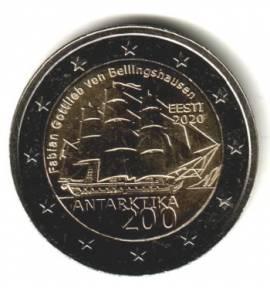 2 € Estland 2020 - 200 Jahre Entdeckung Antarktis - bfr.