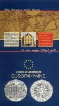 5 Euro Österreich Europahymne  2005 im Blister