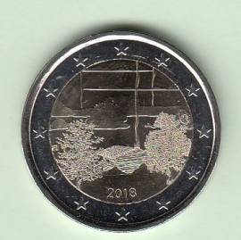 2 Euro Finnland 2018 - Finnische Saunakultur - bfr.