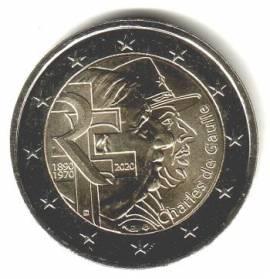 2 € Frankreich 2020 - Charles de Gaulle - bfr.