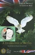 Großbritannien 5 £ 2010 - Celebration Britain - Body Series: Britische Fauna / Schleiereule- PP