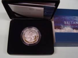 Großbritannien 2 £ Britannia 2018 PP 1 oz Silber