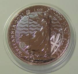 Großbritannien 2 £ Britannia 2021 BU 1 oz