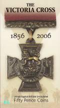 Großbritannien 2 x 50 Pence 2006 - Victoria Cross - (ku/ni BU)