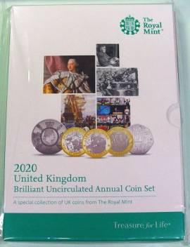 KMS Großbritannien 2020 15,38 £ BU (stgl.)