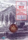 2 € Griechenland 2016 - Arcadi Kloster - Blister
