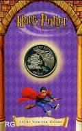 Isle of man 1 crown 2002 - Harry Potter: Fliegendes Auto - BU Blister