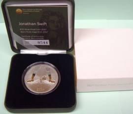 Irland 15 € 2017 - Jonathan Swift Gullivers Reisen  -