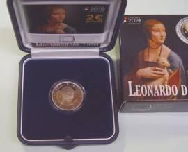 2 € Italien 2019 - 500. Todestag Leonardo da Vinci - PP