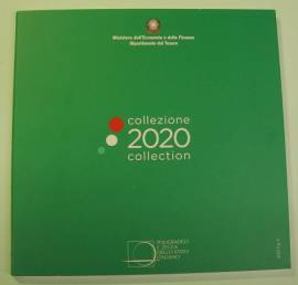 Italien 2020 - Kursmünzsatz stgl. 3,88 €