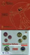Italien 2008 - Kursmünzsatz stgl.