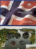 Norwegen Kursmünzsatz 2005