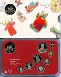 Schweiz - Babysatz - Kursmünzsatz 2004 stgl.
