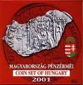 Ungarn KMS 2001 - BU - 1000 Jahre Münzprägung in Ungarn