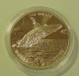 Kongo 20 France Wildlife: The Whale / Buckelwal 2020 BU