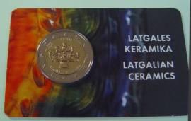 2 € Lettland 2020 - Lettgalische Keramik - Coincard