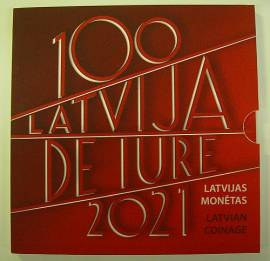 Lettland KMS 2021 - de lure 100 Jahre Anerkennung der Republik - stgl. -