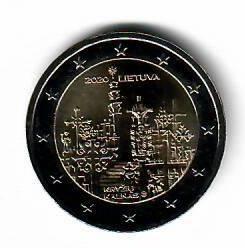 2 € Litauen 2020 - Berg der Kreuze - bfr.