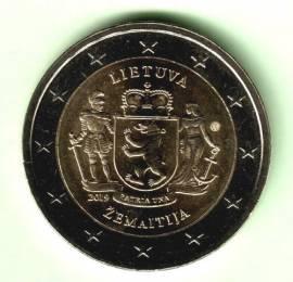 2 € Litauen 2019 - Region Zemaitija - bfr.