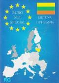 Litauen KMS 2015 - Erster Satz in Euro! - im Folder (bfr.-