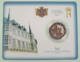 2 Euro Luxemburg 2020 200. Geb.Prinz Henri von Oranien-Nassau Münzzeichen Servaas-Brücke (Blister)