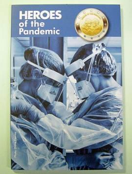2 € Malta 2021 - Helden der Pandemie - Coincard im Blister