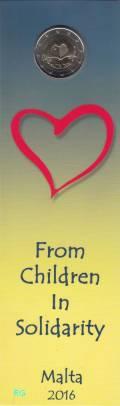 2 € Malta 2016 - Kinder: Liebe - Coincard