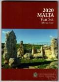 Malta KMS 2020 - stgl. - 2 € Skorba mit Münzzeichen F