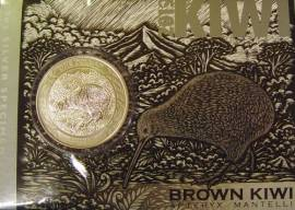 Neuseeland 1 Dollar Kiwi 2019 stgl. - (Blister)