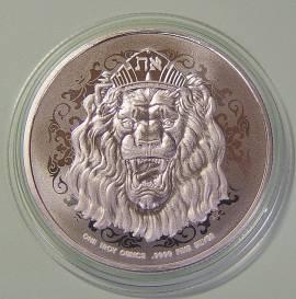 Niue Islands 2 $ Truth Serie: Brüllender Löwe von Judah 2021 BU