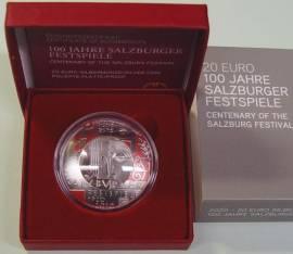 20 € Österreich 100 Jahre Salzburger Festspiele 2020