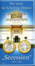 50 öS 1997 Secession hg (Blister)